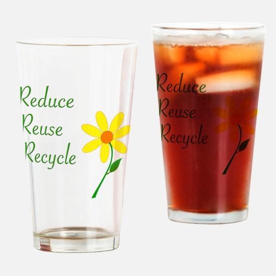 3RsFlower Drinking Glass
