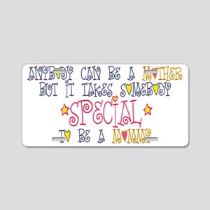 special mommy Aluminum License Plate