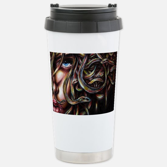 Medusa2_FL Stainless Steel Travel Mug