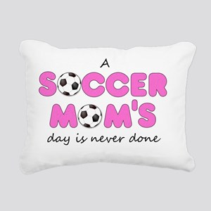 asoccermomsday-front Rectangular Canvas Pillow