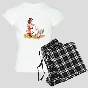 Chicken Women's Light Pajamas