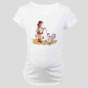 Chicken Maternity T-Shirt