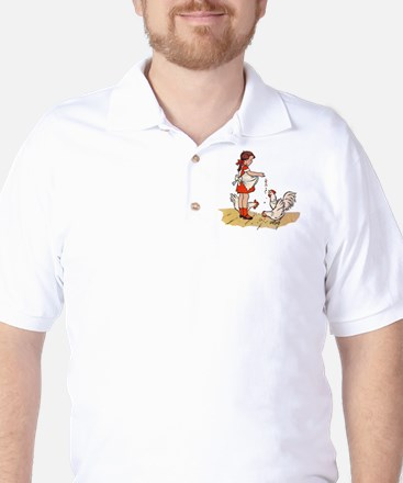 Chicken Golf Shirt