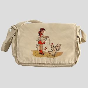 Chicken Messenger Bag