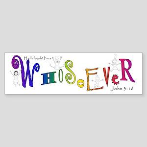 WhoTee Sticker (Bumper)