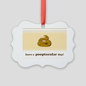 poopnc Picture Ornament