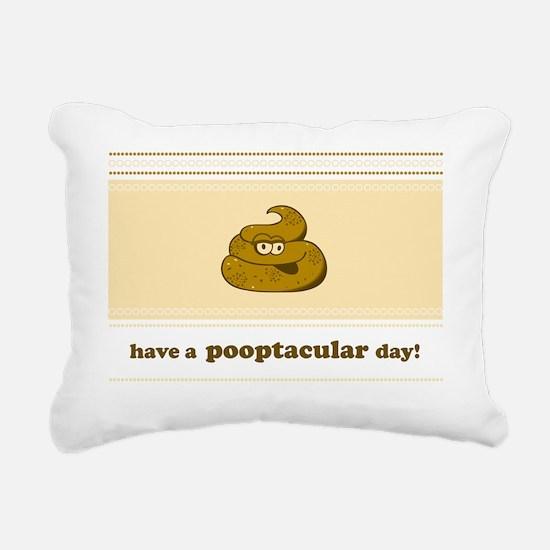 poopnc Rectangular Canvas Pillow
