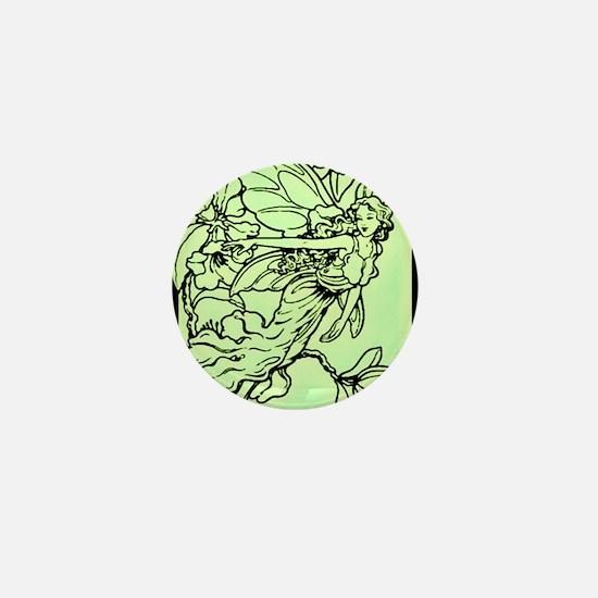 2-green faerie queen Mini Button