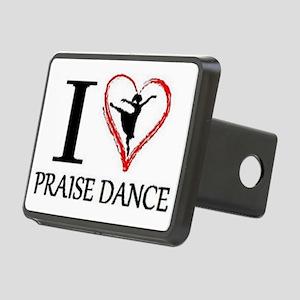 3-dancing Rectangular Hitch Cover