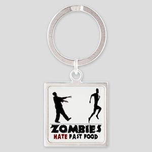 zombie Square Keychain