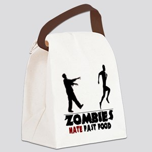 zombie Canvas Lunch Bag