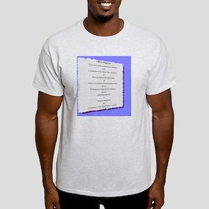 CRCA purpose blue (2000 x 2211) Light T-Shirt