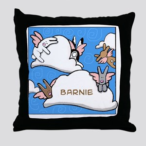 BUNNIESclouds Throw Pillow