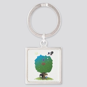 poster2 Square Keychain