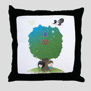 poster2 Throw Pillow