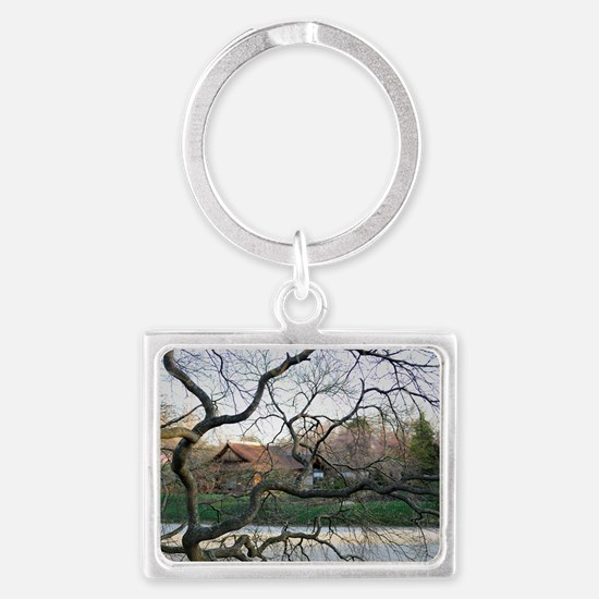 Through the Trees Landscape Keychain