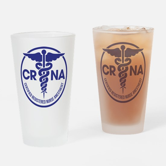 CRNA Certified Registered Nurse Ane Drinking Glass