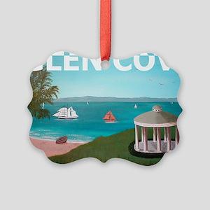 GlenCoveBold1 Picture Ornament