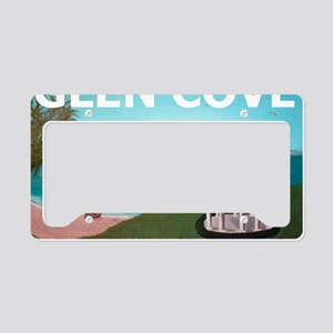 GlenCoveBold1 License Plate Holder