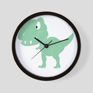 2-greentrex Wall Clock