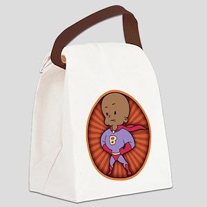 super-baby-DK-T Canvas Lunch Bag