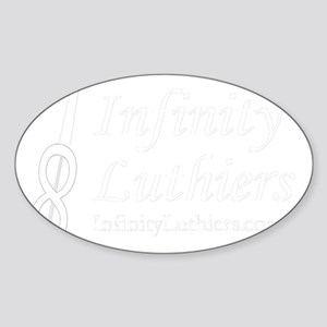 inf_w_name_and_www Sticker (Oval)