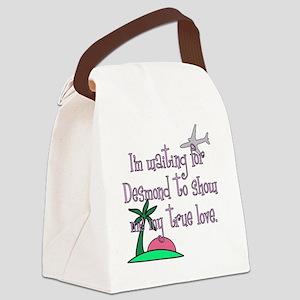 Im waiting for Desmond Canvas Lunch Bag