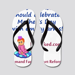 empty_arms_mothers_day2 Flip Flops