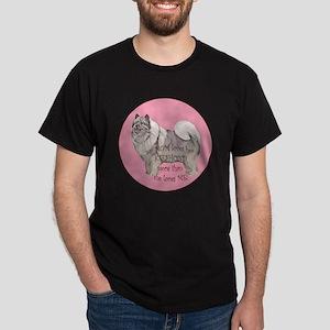 keeshond_mom Dark T-Shirt