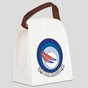 VA-93 Blue Blazers Canvas Lunch Bag