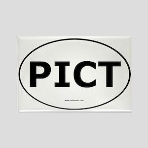 pict-border-fill Rectangle Magnet