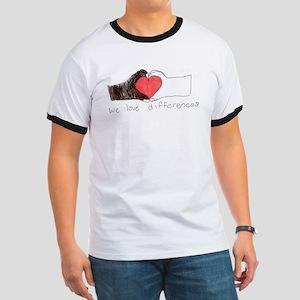 We Love Differences Men's Ringer T-Shirt