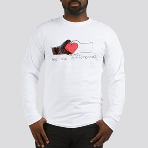 We Love Differences Men's Long Sleeve T-Shirt
