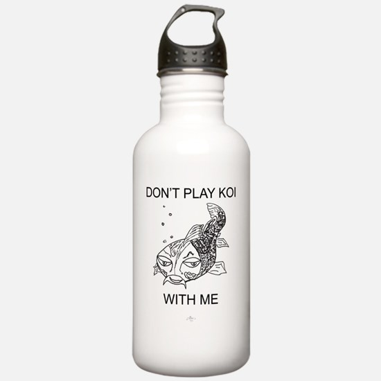 Koi_T-shirt_ME_flat Water Bottle
