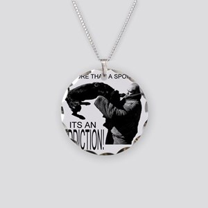 ADDICT K9 SHIRT Necklace Circle Charm