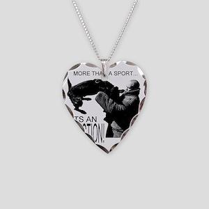 ADDICT K9 SHIRT Necklace Heart Charm