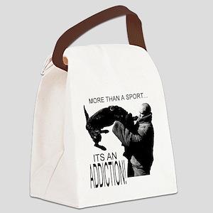 ADDICT K9 SHIRT Canvas Lunch Bag