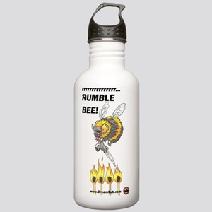 Rumble_Bee_text_logo Stainless Water Bottle 1.0L