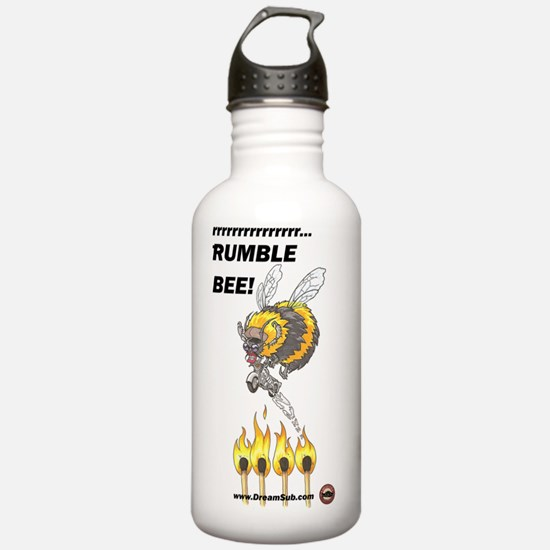 Rumble_Bee_text_logo Water Bottle