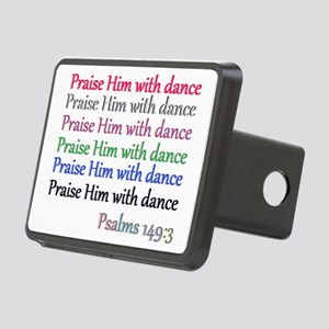 praise w dance Rectangular Hitch Cover
