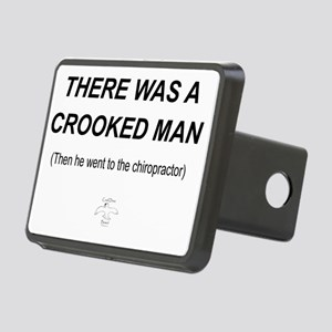 CROOKED_MAN Rectangular Hitch Cover