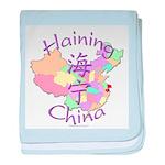 Haining China baby blanket