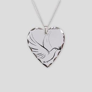 patient not criminal black Necklace Heart Charm