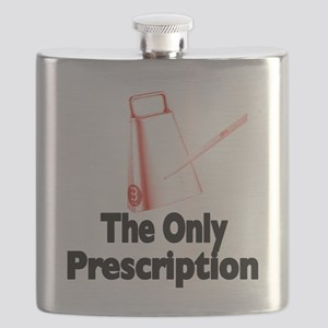 cowbell-the only prescription Flask