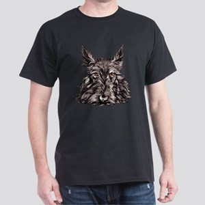 Scottish Terrier Dark T-Shirt