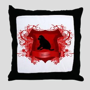 Maremma Throw Pillow