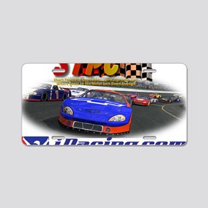 Apparel_STPC_iRacing Aluminum License Plate