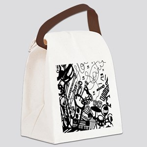 instruments  Canvas Lunch Bag