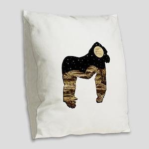 THE HIGHLAND Burlap Throw Pillow