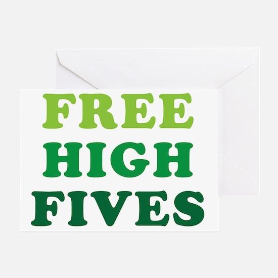 freehighfives Greeting Card